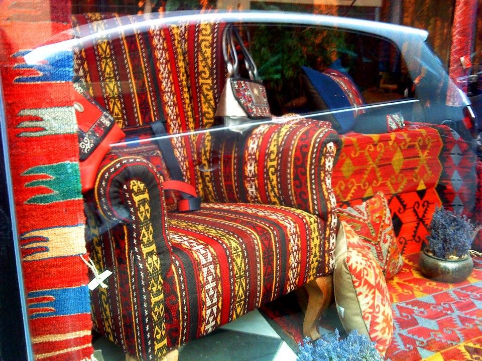 KILIM a nomád szőnyeg